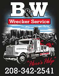 Boise, Idaho Towing Services | Heavy & Light Duty| B&W Wrecker of Idaho